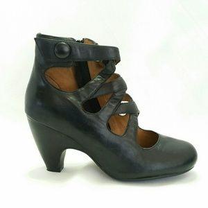 Miz Mooz Size 6.5 Tillman Pump Black Leather